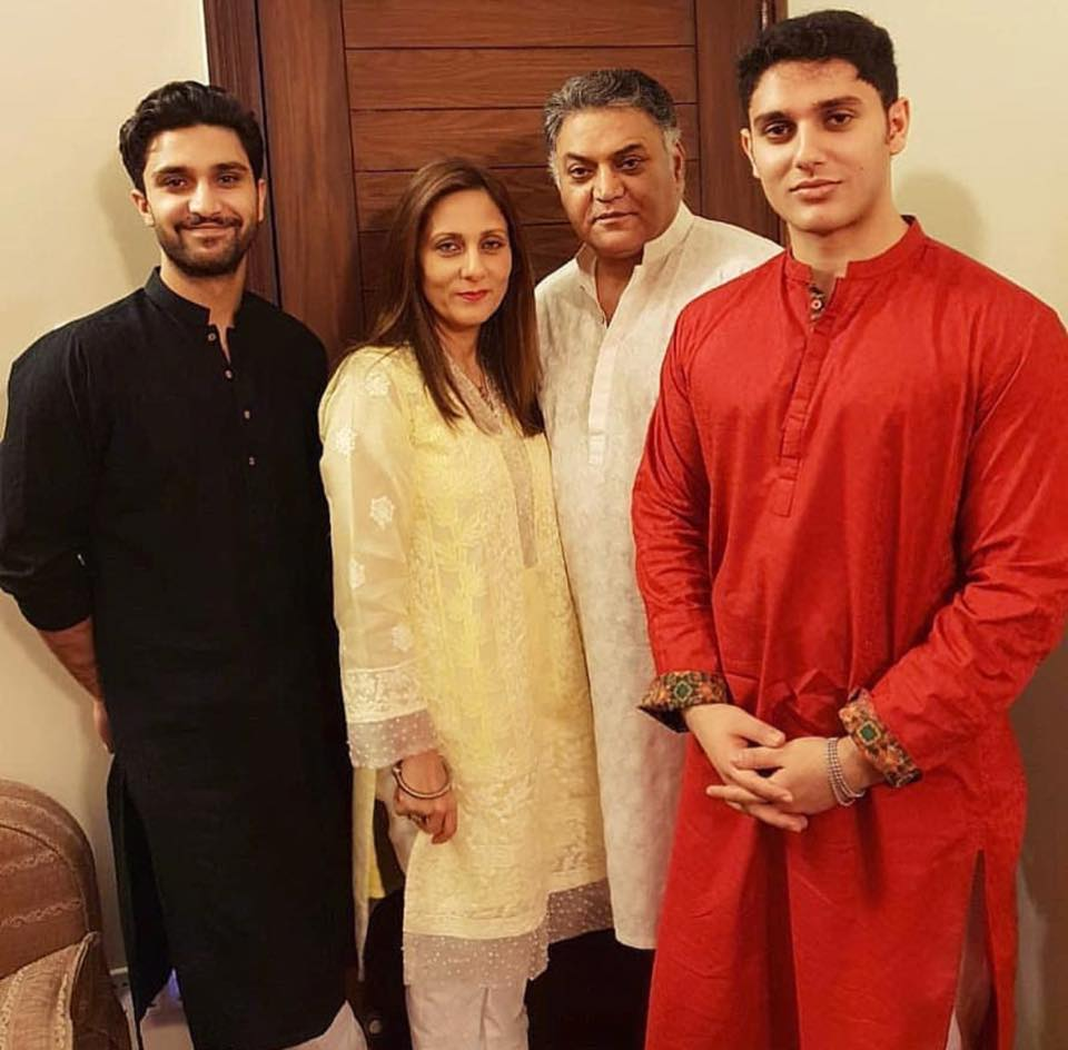 Asif Raza Mir Eid Celebrations With His Family