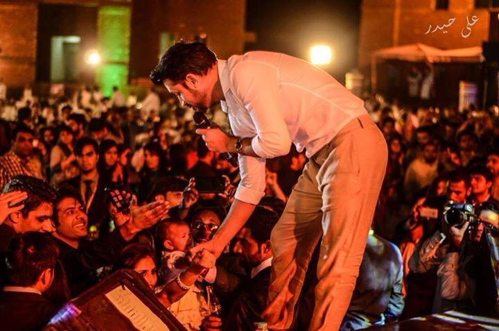Atif Aslam Performance Enthralls Audience In University Of Central Punjab