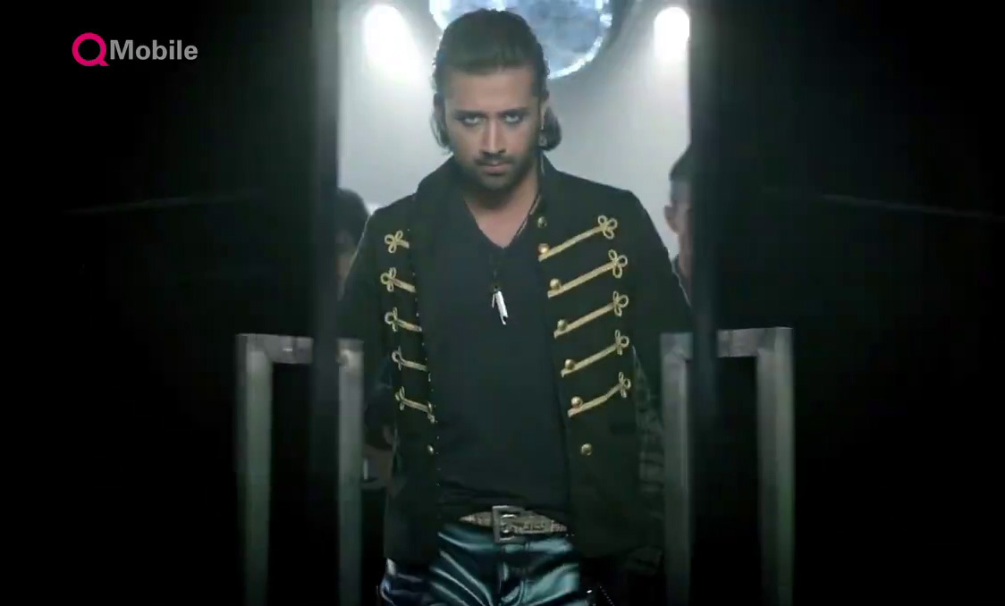 Atif Aslam With New Look In QMobile Noir i10 TVC