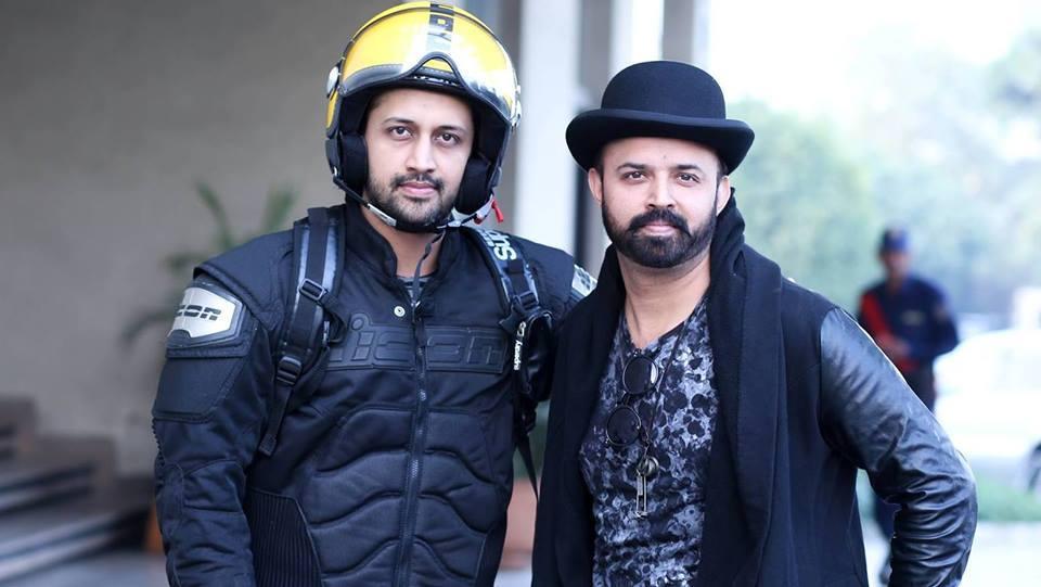 Atif Aslam with his brother Shahbaz Aslam - Arts & Entertainment