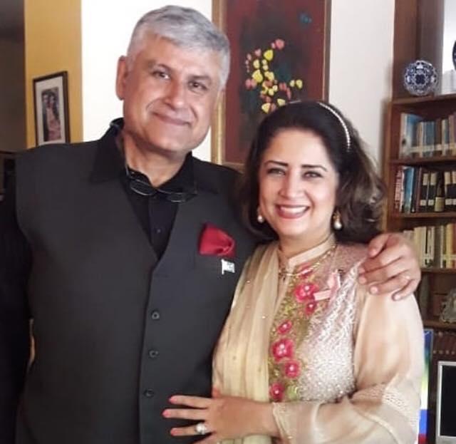 Atiqa Odho With Her Husband