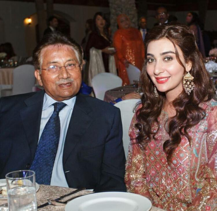 Ayesha Khan With Pervez Musharraf At Wedding