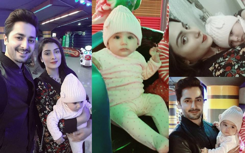 Ayeza Khan Celebrating New Year Eve With Her Daughter Hoorain