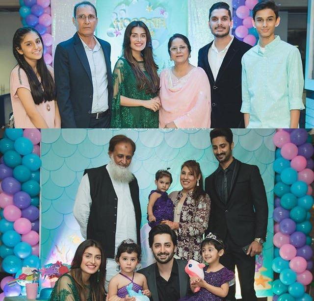 Ayeza Khan With Her Family