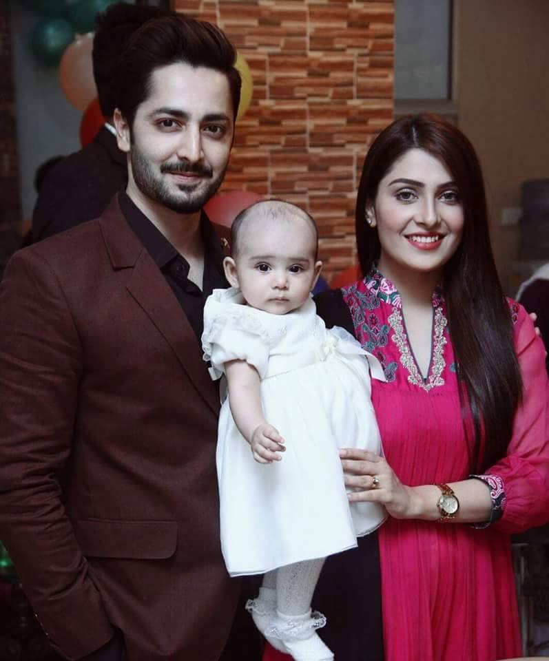 Ayeza Khan and Danish Taimoor Baby Daughter