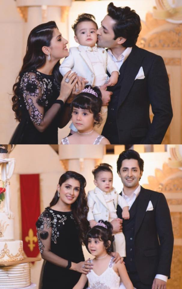 Ayeza & Danish Celebrating Their Son, Rayan Taimoor's First Birthday
