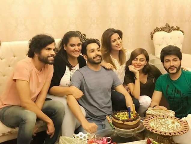 Azfar Rehman Birthday Surprise