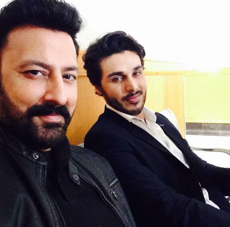 Babar Ali & Ahsan Khan Together For Drama Shooting