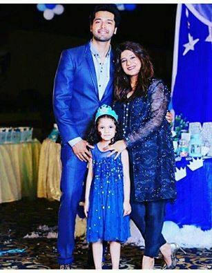 Pakistani Actor Ali Tahir With His Wife Wajiha Tahir - Arts