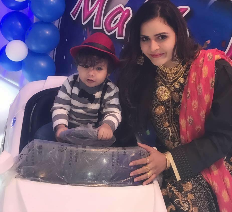 Beenish Chohan With Her Cute Son