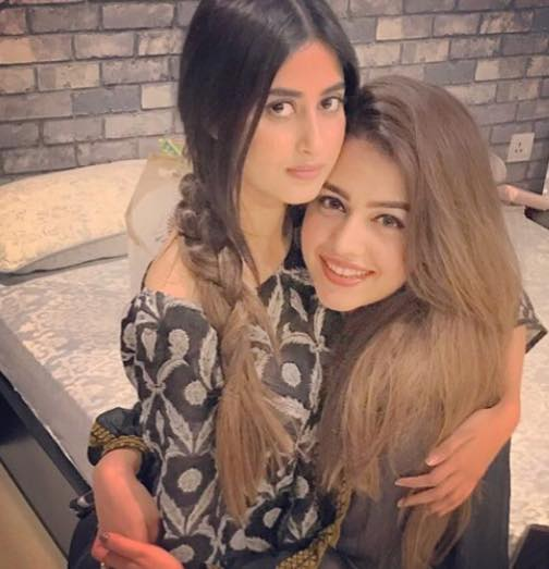 Best Friends Sajal Ali & Zara Noor