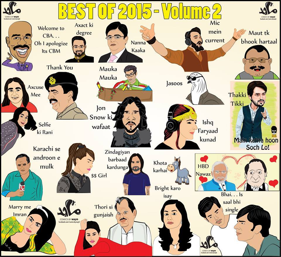 Best Of Whole Year 2015 In One Frame