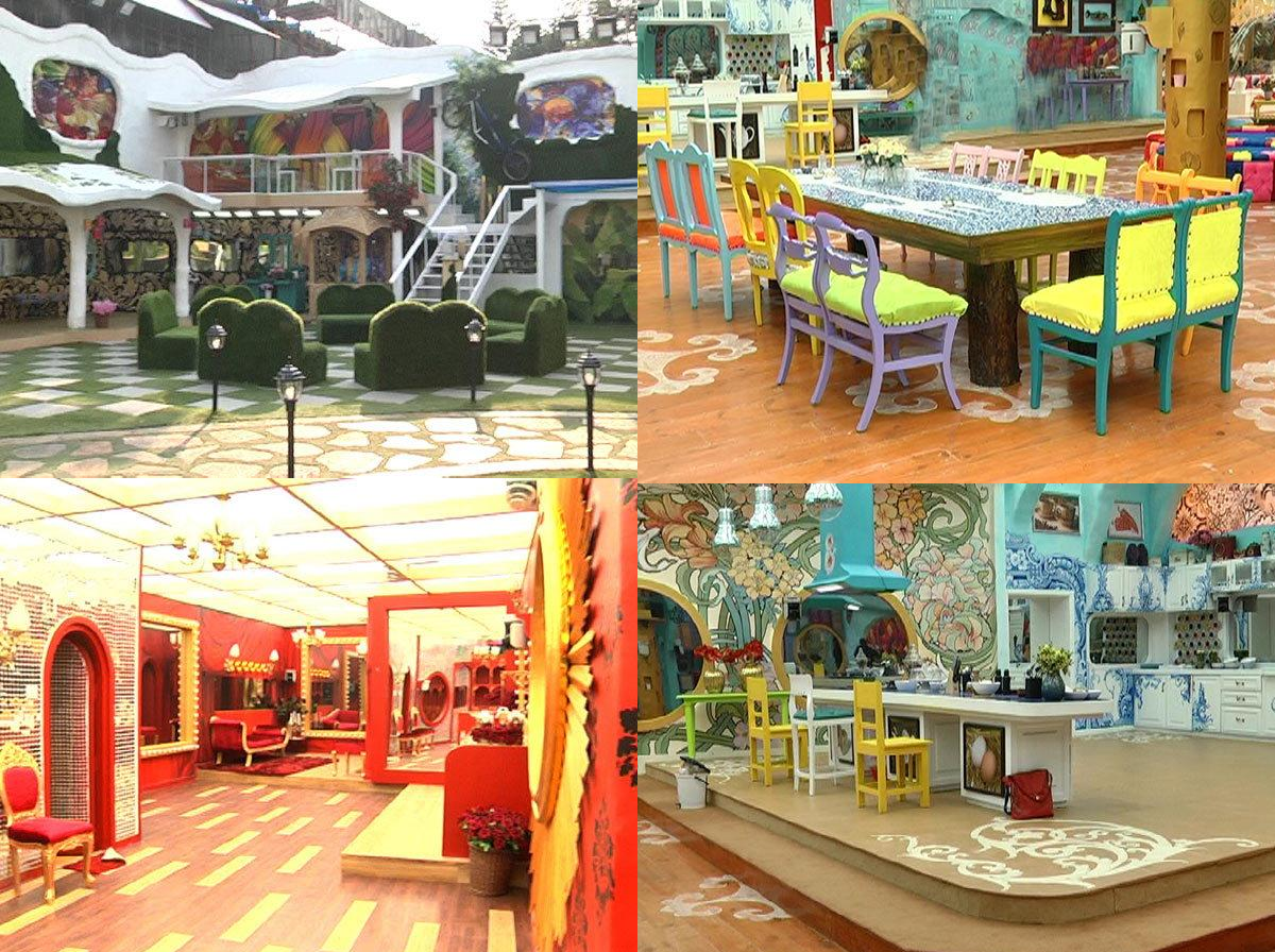 Bigg Boss 9 House Pictures
