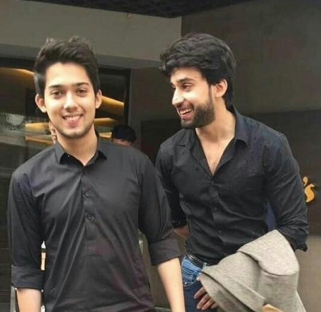 Bilal Abbas Khan With His Brother