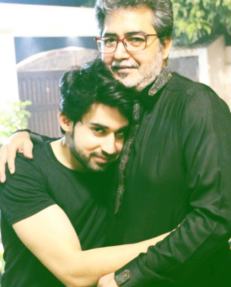 Bilal Abbas With His Father