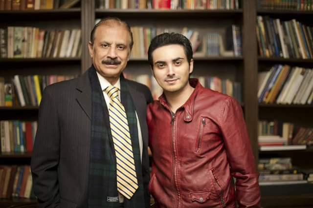 Bilal Lashari With His Father