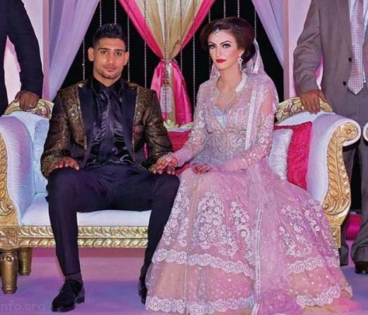 Boxer Amir Khan Exclusive Valima Pic