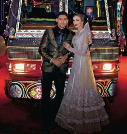 Boxer Amir Khan's & Faryal Makhdoom's Valima in Desi Style