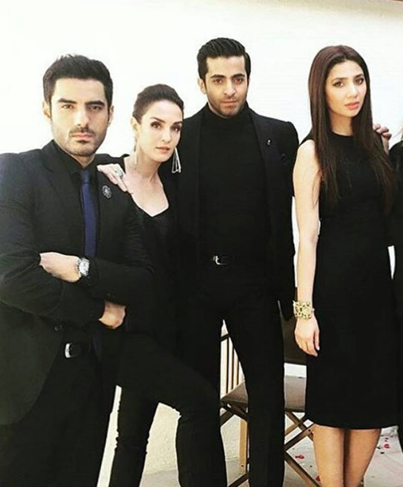 Cast of Ho Man Jahan Behind The Scene of Cover Shoot
