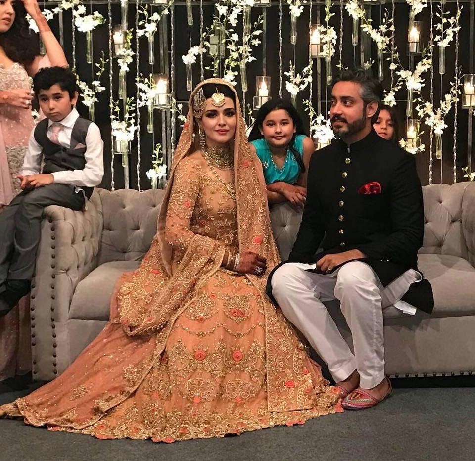 Click From Natasha Khalid Wedding