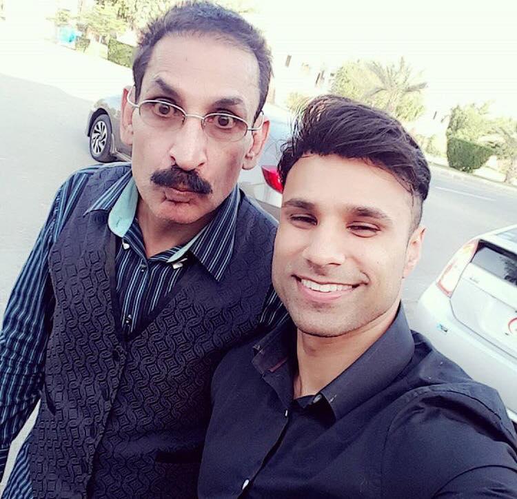 Comedians Rahim Pardesi & Iftikhar Thakur