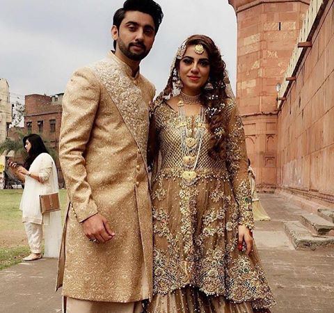 Congratulations To Amanat Ali & Sarah On Their Nikkah