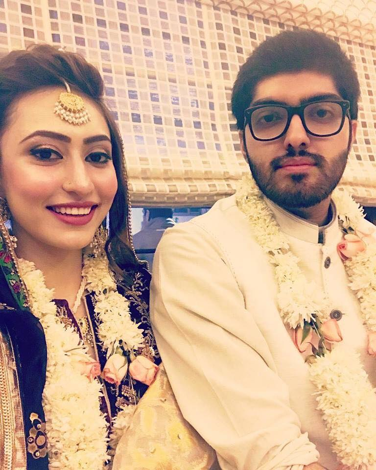 Congratulations To Babur Junaid Jamshed & Mahnoor On Their Nikkah