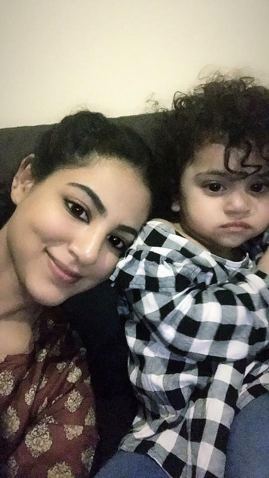Cute Click Of Annie Khalid With Her Daughter