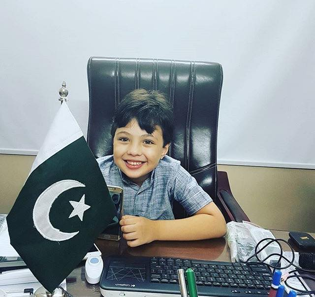 Cute Picture Of Pehlaaj Hassan