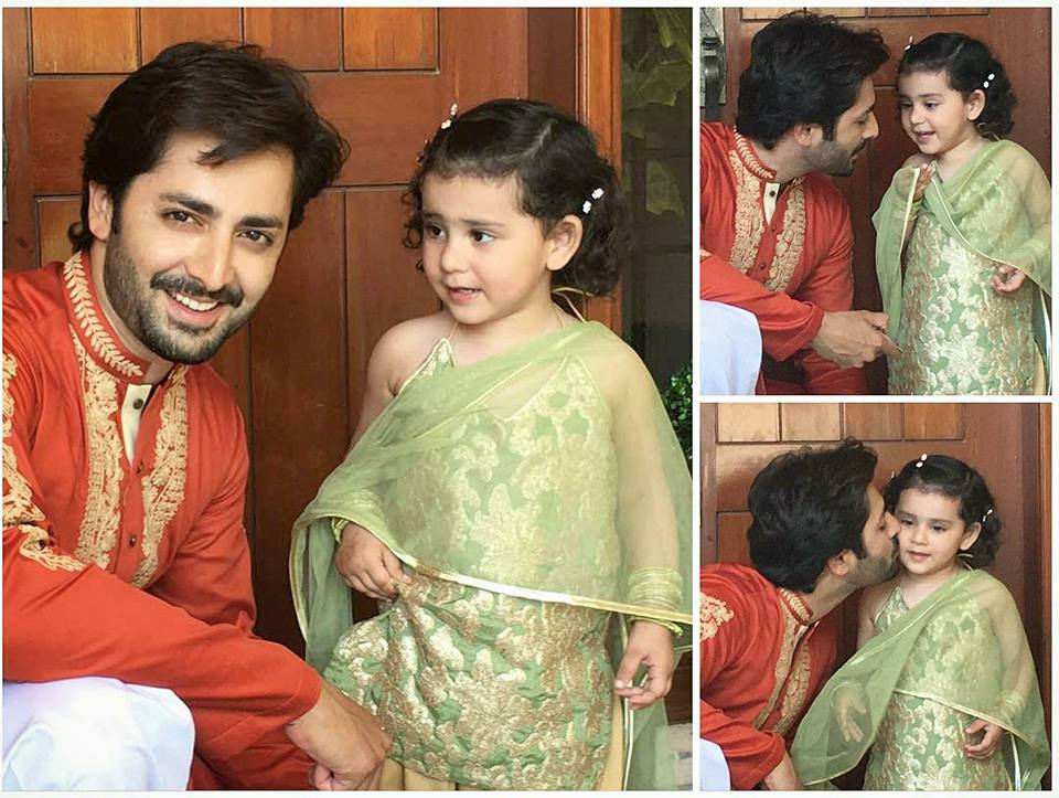 Danish Taimoor Celebrates 2nd Birthday Of His Daughter