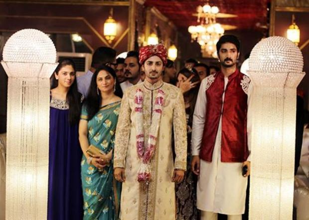 Danish Taimoor Wedding Look