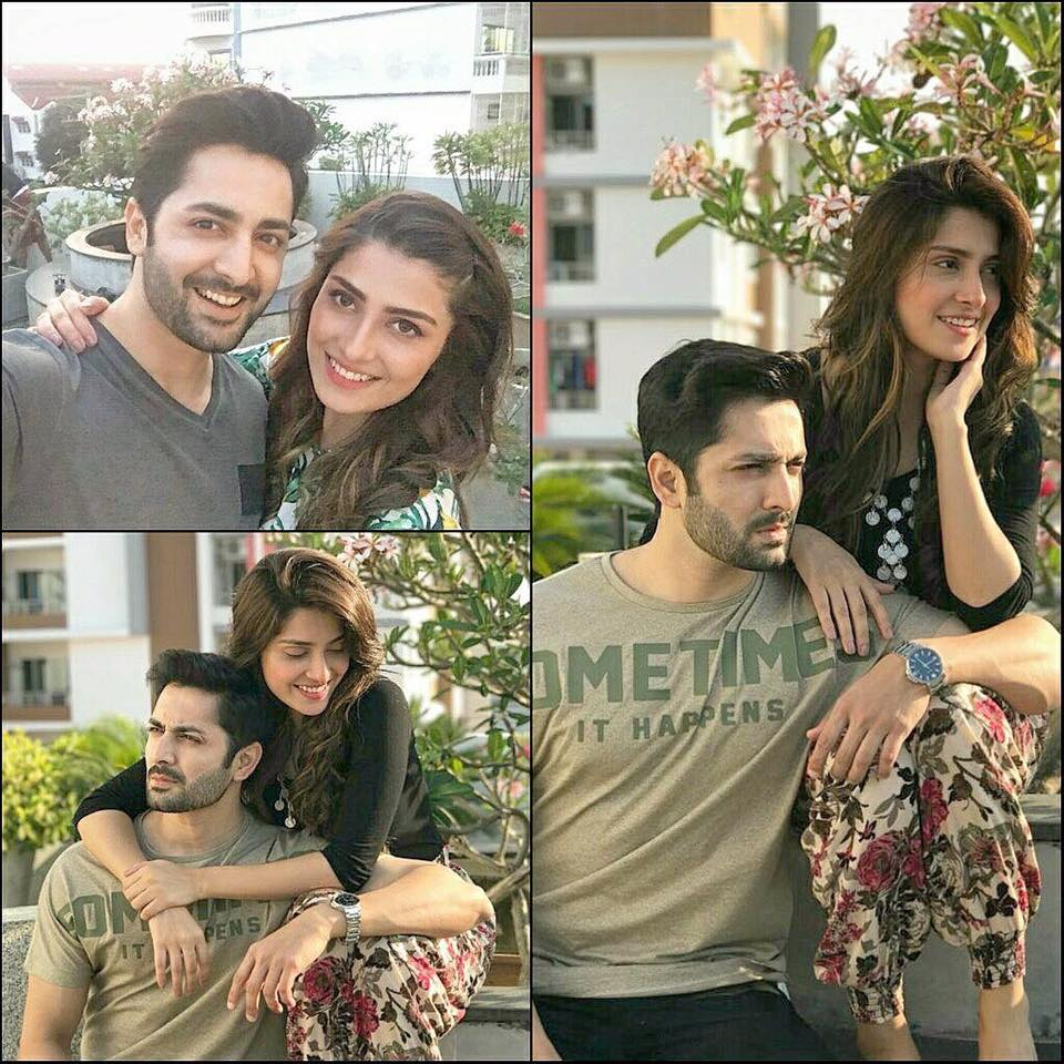 Danish Taimoor & Ayeza Khan In Bangkok