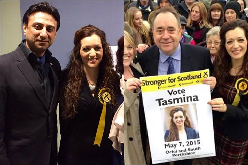 Drama Serial Aansoo Fame Tasmeena Sheikh Participated In British Elections