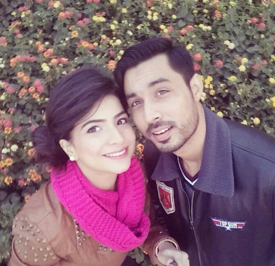 Dua Malik With Husband Sohail Haider