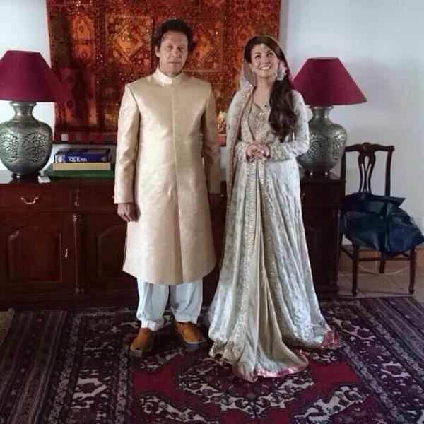 Imran Khan And Reham Khan Wedding/Nikkah Exclusive Photo