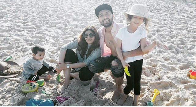 Fahad Mustafa Enjoying With Family