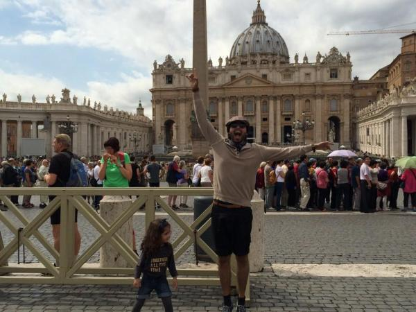 Fahad Mustafa In Vatican City