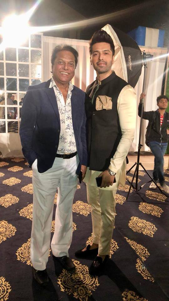 Fahad Mustafa With His Father