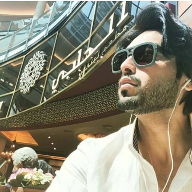 Fahad Mustafa in Dubai For His Program Jeeto Pakistan