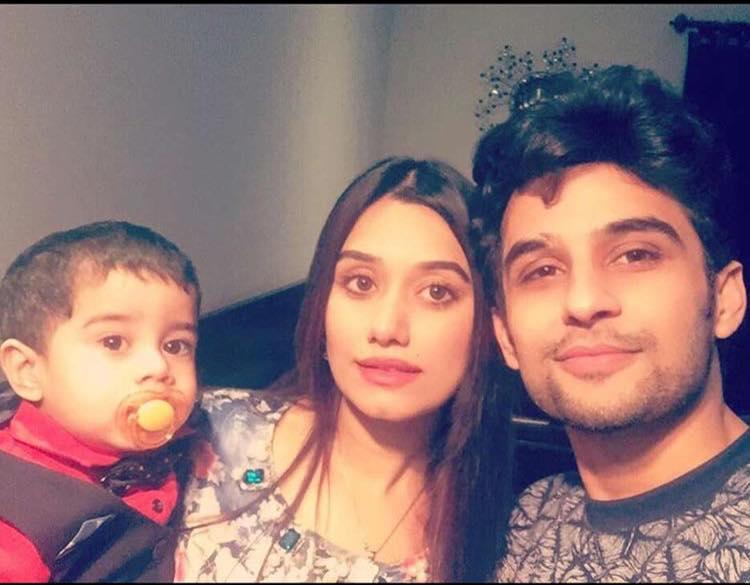 Fahad Sheikh With His Family