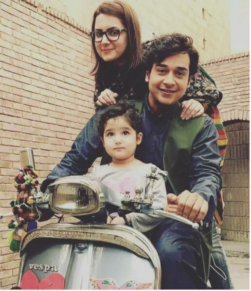 Faisal Qureshi With Family