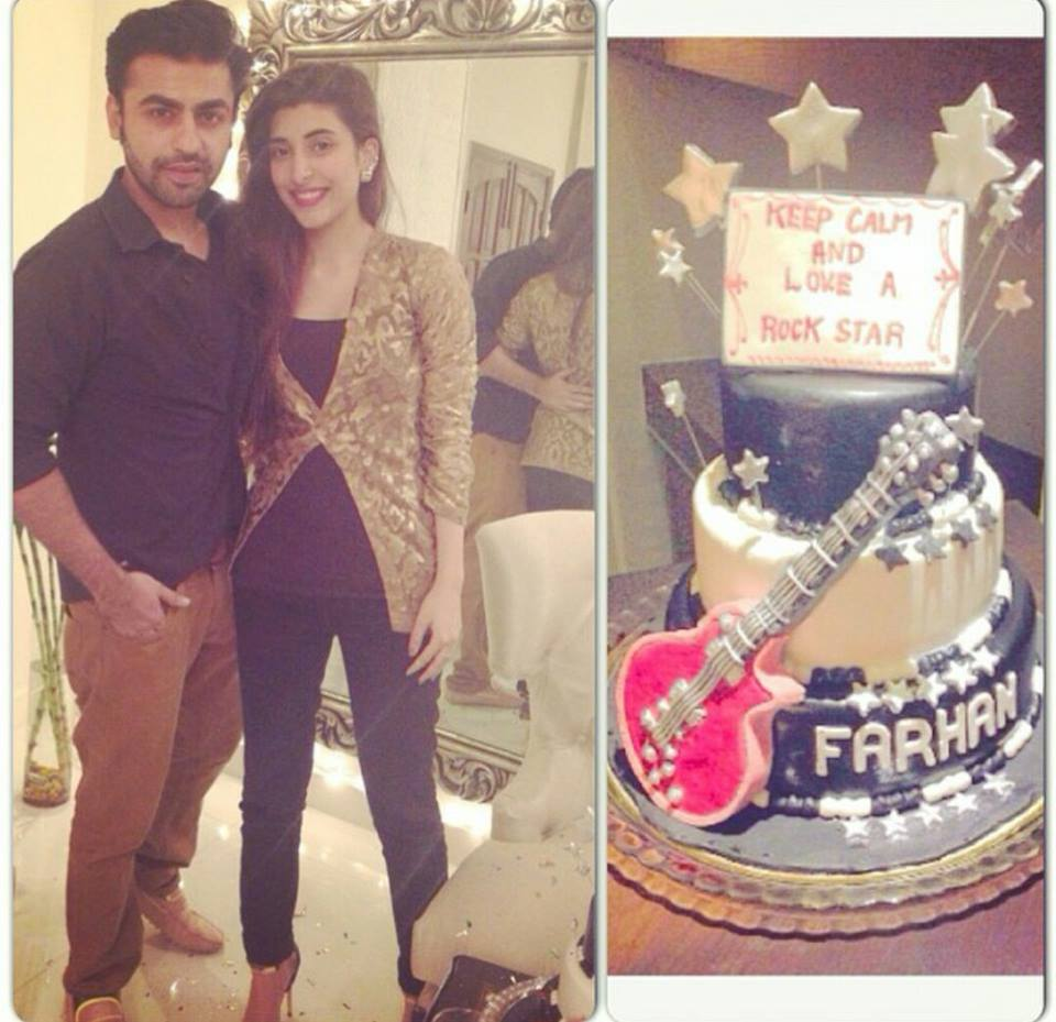 Farhan Saeed Celebrated His Birthday