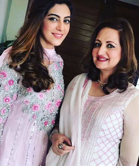 Faria Hassan With Laila Zubari