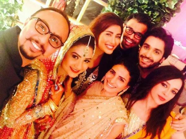 Fashion Designer Nomi Ansari's Sister Wedding Picture