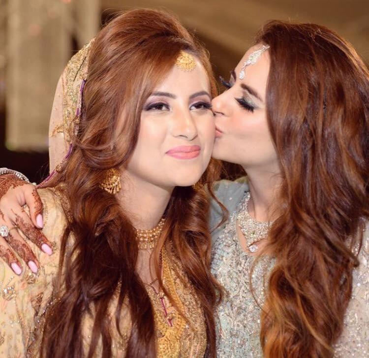 Fatima Effendi At Her Sister's Wedding