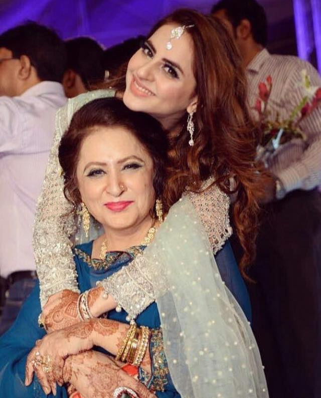 Fatima Effendi With Her Mother