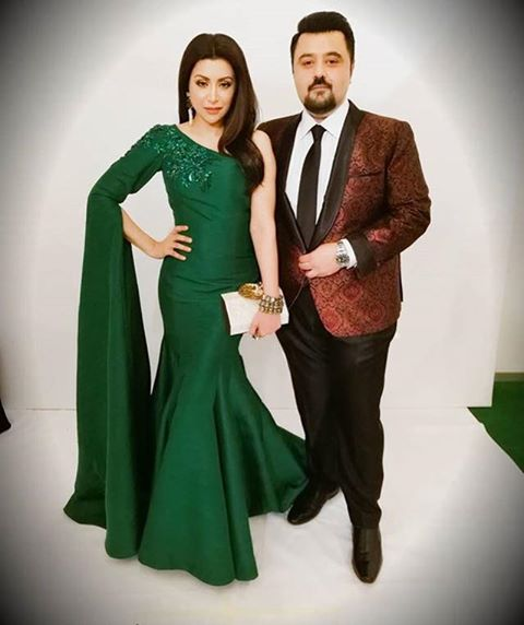 Fatima Khan & Ahmed Ali Butt At Hum Awards