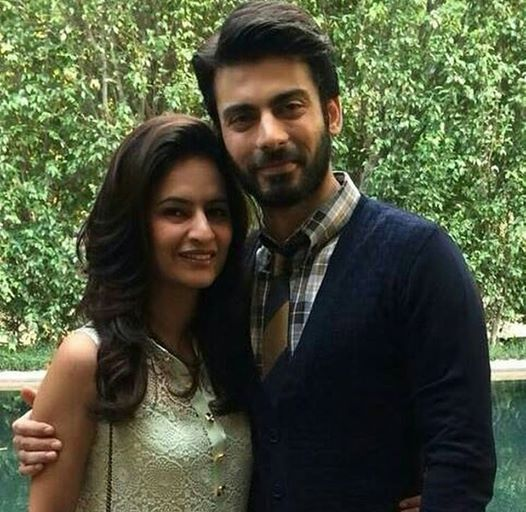 Fawad Afzal Khan With His Wife Sadaf