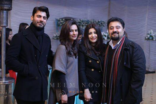 Fawad And Ahmed Butt With Their Wives
