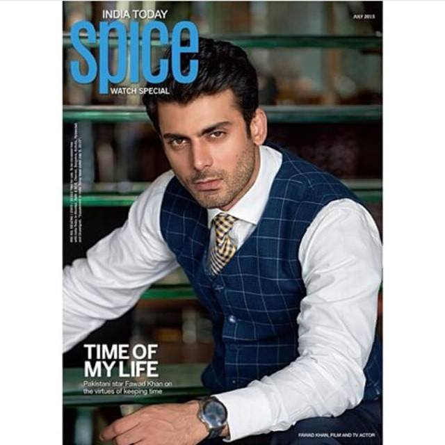 Fawad Khan Cover Face For Spice Magazine